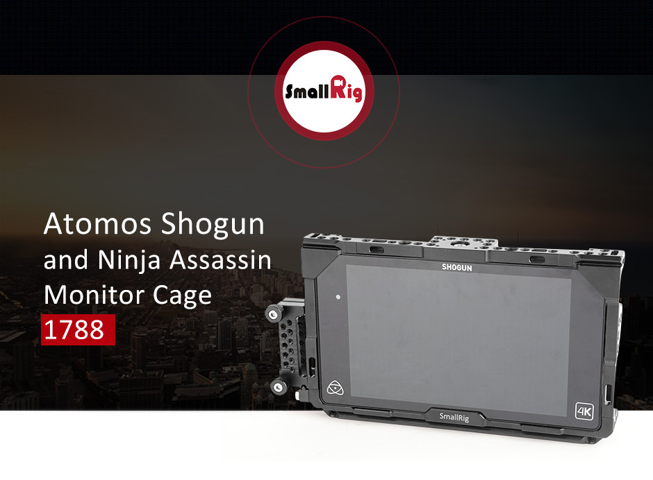 Atomos Shogun and Ninja Assassin Monitor Cage